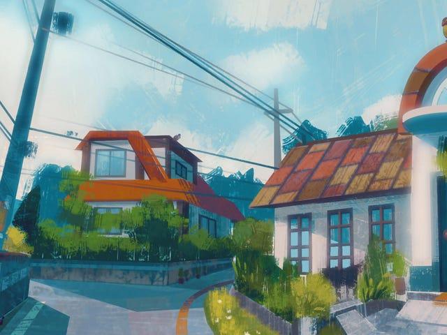 Bellissimi dipinti della regione di Kanto di Pokemon