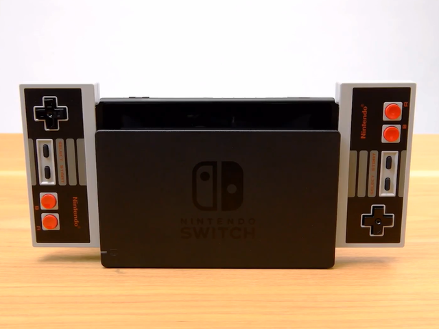 Nintendo Switch Is Getting NES Controllers