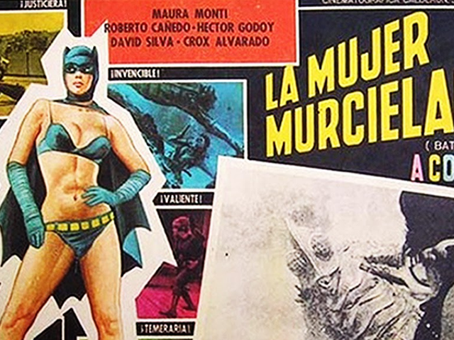 That Time a Mexican Filmmaker Turned Batman Into a Female Wrestler