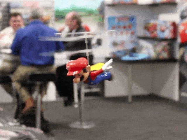 Anda Percaya Sebuah Mario Dapat Terbang