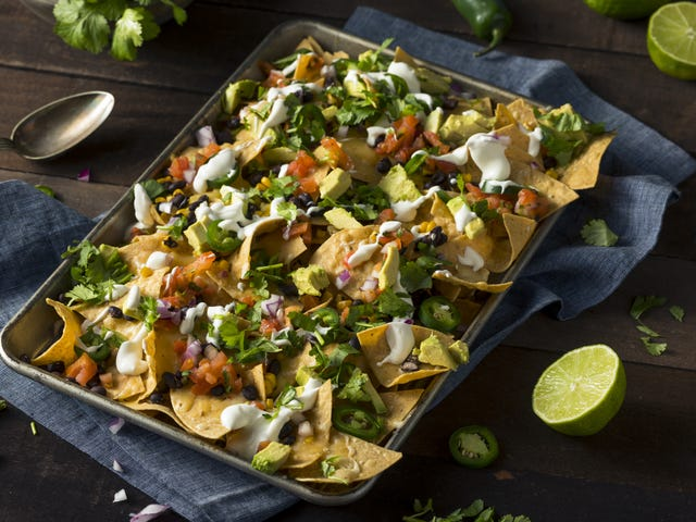 Pile Your Thanksgiving Leftovers on Nachos