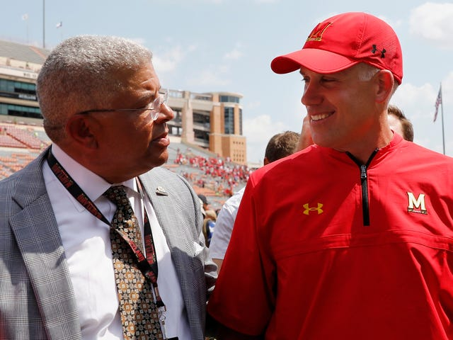 Former Maryland AD Meddled In School's Handling Of Football Players' Sexual Misconduct Case