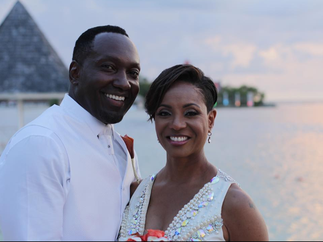 MC Lyte Jumps the Broom in Jamaica