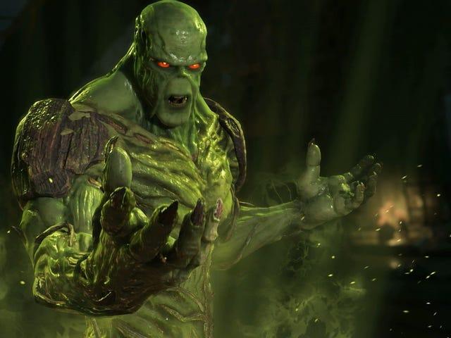La nueva serie <i>Swamp Thing</i> de DC se frem til 31. maj