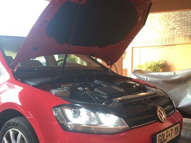 ปัญหาน้ำมันด้วย VW ของฉัน