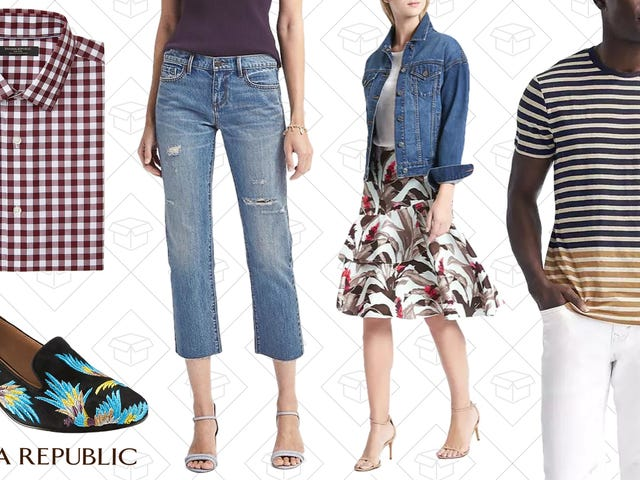 Banana Republic Is Taking an Extra 50% Off Their Entire Sale Section