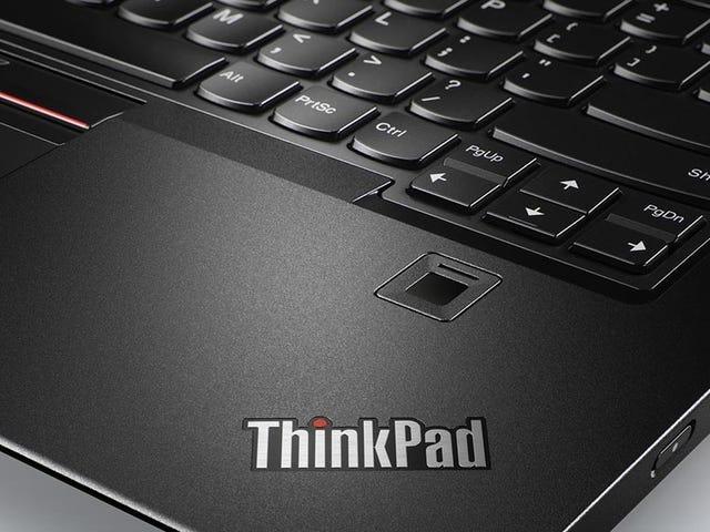 Lenovo fejl kunne lade hackere bytte fingeraftryk scannere på nogle pc'er