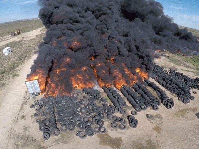 Api Ban Texas Besar-besaran Diperlukan Penyelamatan EPA
