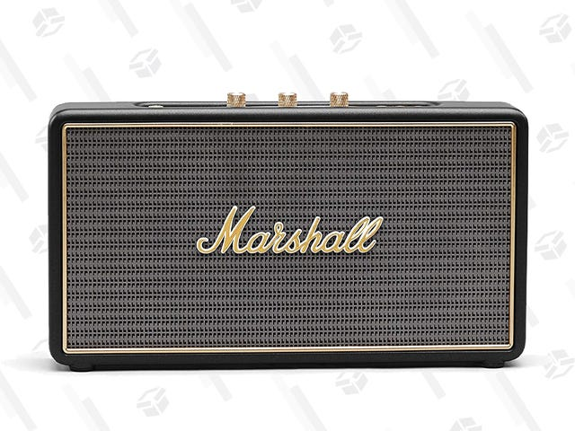 Tune Into This Deal on a Portable Marshall Bluetooth Speaker