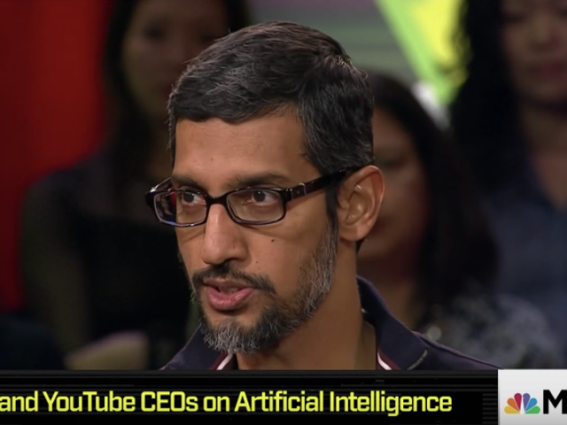 Google CEO Says AI Is 'More Profound Than, I Dunno, Electricity or Fire'