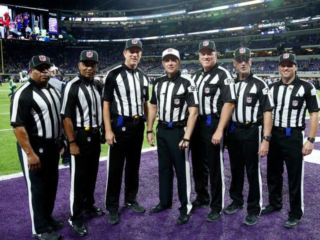 NFL recrute 17 officiels à temps plein et augmente la taille des équipages