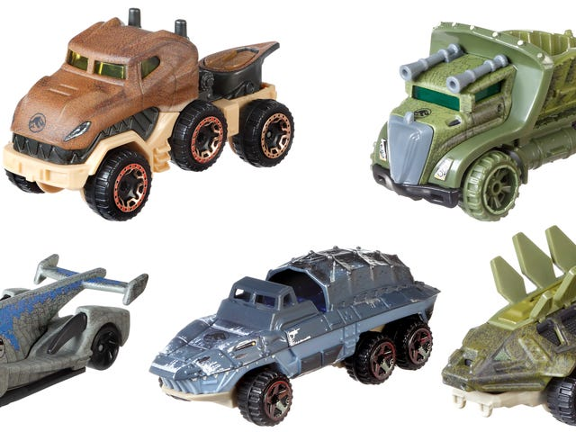 Jurassic Park Would Have Been an Even Bigger Hit If All the Dinosaurs Were Also Cars