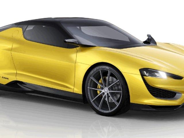 Nogen bygger Magna Steyrs Kickass Hybrid Sports Car
