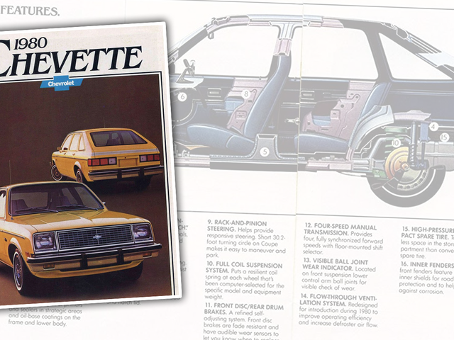 You've Got to Admire How Hard This 1980 Chevette Brochure Is Trying