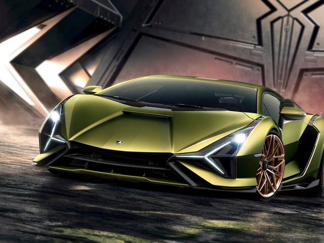 The 2020 Lamborghini Sián Di Sini Dengan 819 HP Dan A Hybrid V12