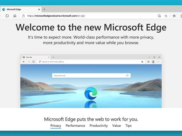 Cómo cambiar a Microsoft Edge ahora que es realmente bueno