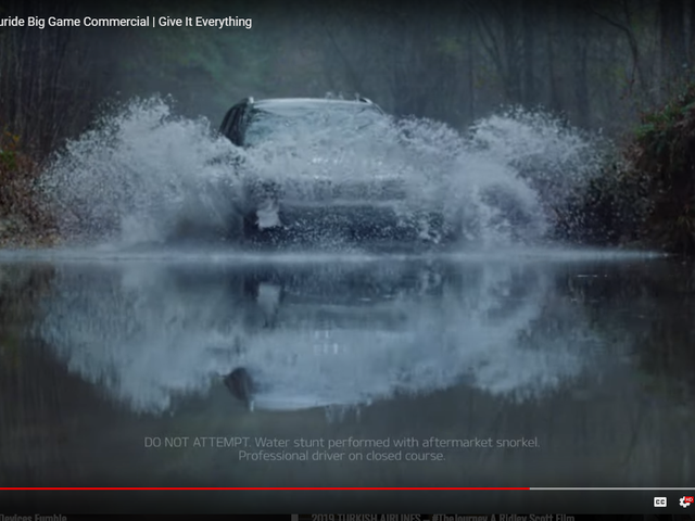 Kia Telluride - does it match Range Rover for water fording capabilities??