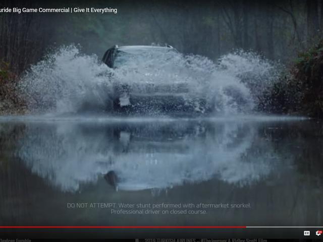 Kia Telluride - ele corresponde ao Range Rover para capacidades de fording de água?