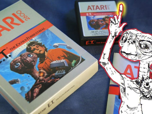 Atari's Much-Hated<i>E.T.</i> Is A (Slightly) Better Game If You Read The Manual