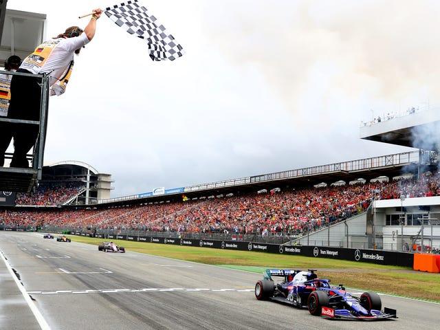 La Formule 1 ne parvient toujours pas à obtenir le drapeau à damier