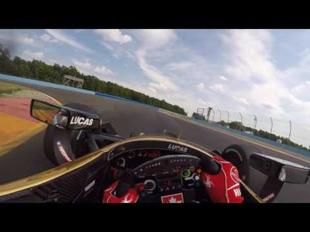 IndyCar onboard from Watkins Glen.