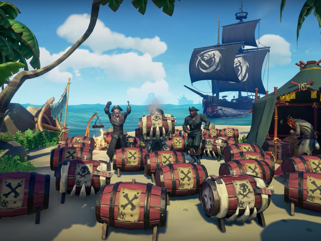 Sea Of Thieves Gets Monthly Updates And The First One Is Pretty...Explosive