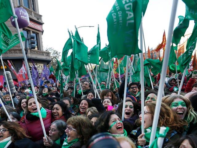 Argentina's Congress Has Taken a Major Step Toward Legalizing Abortion