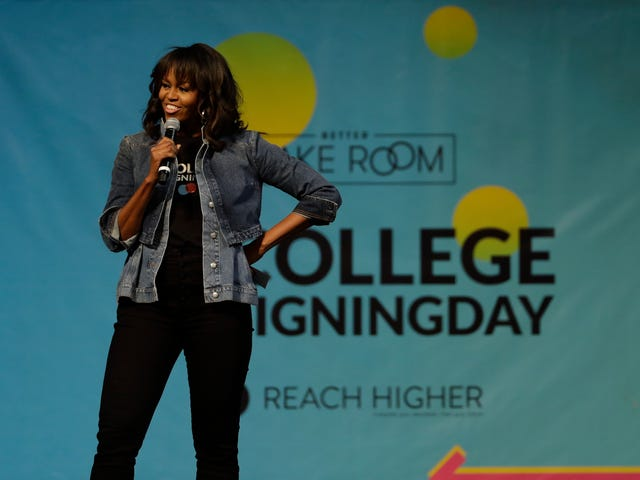 Michelle Obama Just Called Herself Our 'Forever First Lady.' No Other First Ladies Need Apply