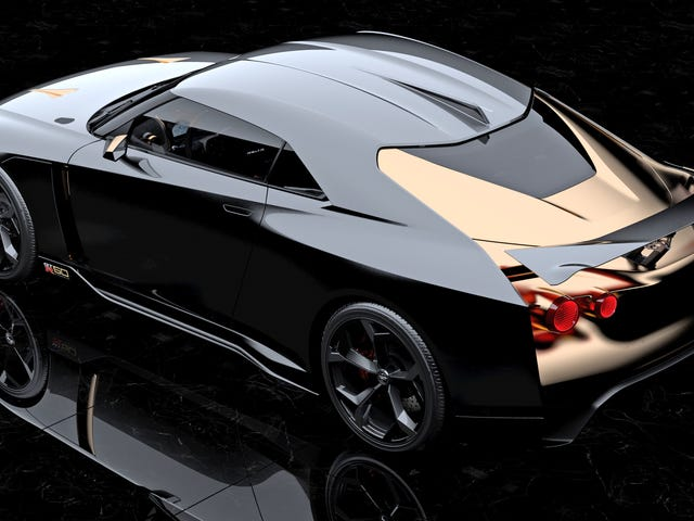 The Nissan GT-R50 By Italdesign Is The Best-Looking GT-R Ever