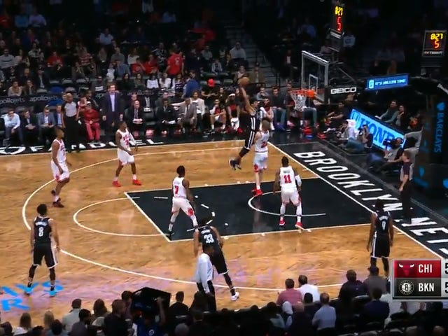 Lauri Markkanen Gets His Soul Snatched On Jarrett Allen's Dunk, Admirably Tries To Get Revenge