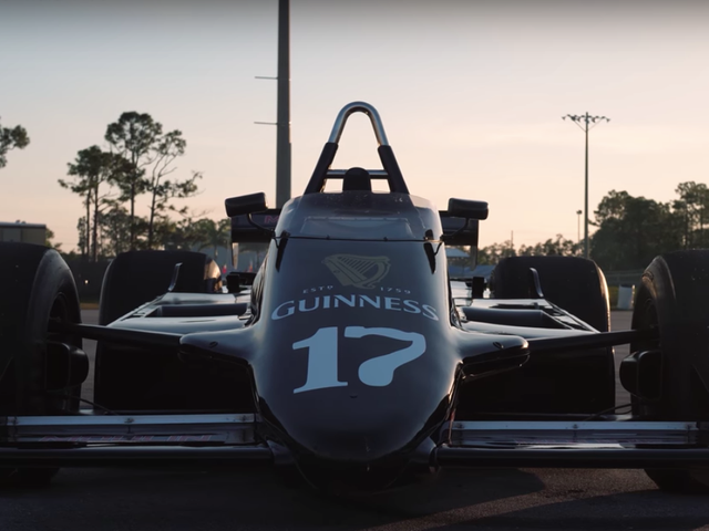 This Is What It's Like To Drive An F1 Car From 1981