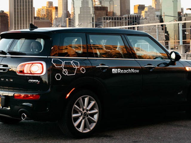 BMW's ReachNow Car Sharing Service Is Mostly Dead In Its Biggest Market