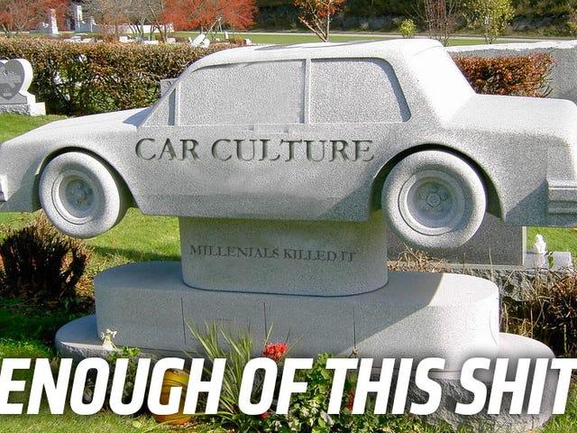 Tất cả hãy đồng ý về ba điều này và đừng bao giờ viết về việc văn hóa xe hơi đang chết đi một lần nữa