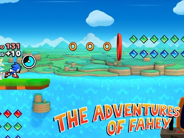The First Five Minutes Of <i>Sonic Runners</i> Are The Best Five Minutes