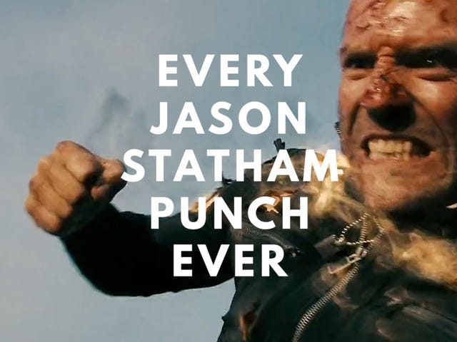 Chaque Jason Statham Punch Ever?