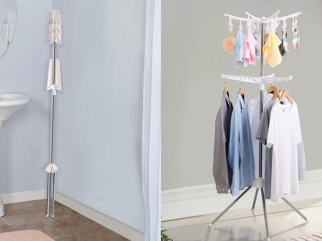 You Might Actually Air Dry Your Clothes With This Convenient Rack