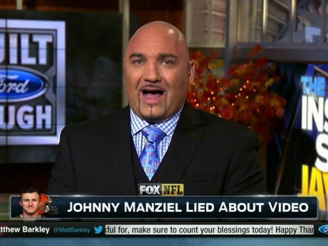 Informe: Johnny Manziel le dijo a sus amigos que mintieran a los Browns sobre la fiesta