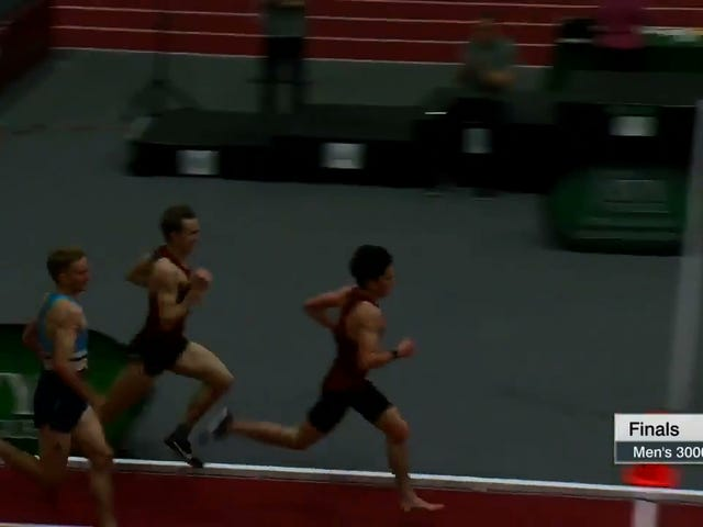 Harvard Runner Turns His Foot Into Ground Beef After Winning 3,000-Meter Race With One Shoe