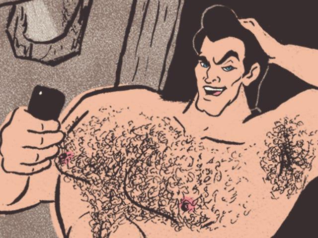 迪士尼Dudes'迪克斯:你最喜欢的王子看起来像裸体