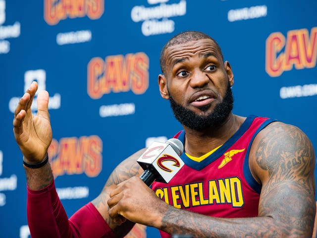 LeBron James Is Not Happy With Keeping Up With the Kardashians'Film Crew, Calls Them a 'Shit Show'