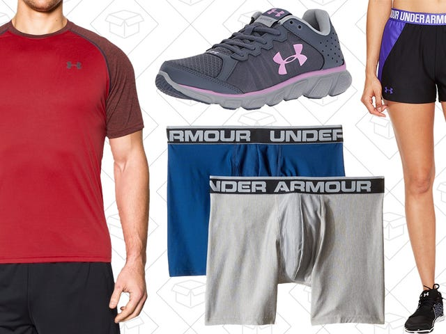 Run, Don't Walk to Amazon's One-Day Under Armour Sale
