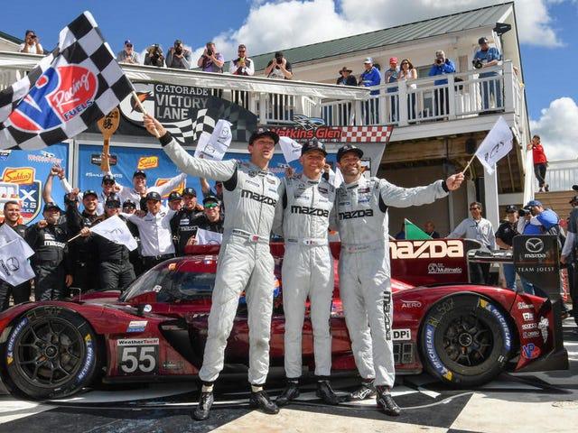 Mazda phá vỡ chuỗi may mắn IMSA với sự thống trị của Watkins Glen 6 giờ
