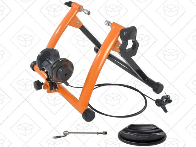 Turn Your Regular Bike Into an Exercise Bike For $58