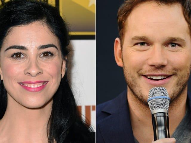 Gird Your Loins & DVRs: Sarah Silverman & Chris Pratt are Hosting SNL