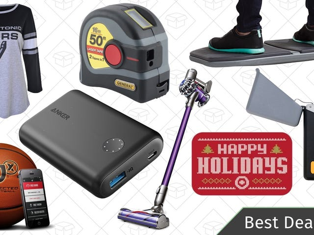 Sunday's Best Deals: 10% off Target Gift Cards, Dyson V6, Activewear, and More