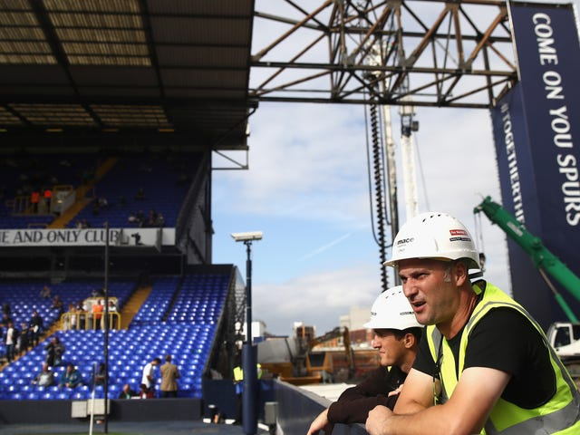 Tottenham's New Stadium Construction Sounds Like A Nightmare