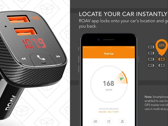 This $20 Anker USB Charger Is Also a Bluetooth/FM Transmitter and Car Finder