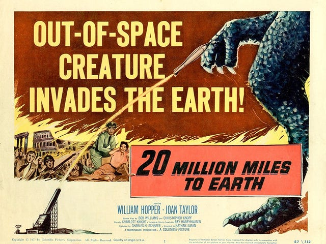 Svengoolie: 20 Million Miles to Earth (1957)