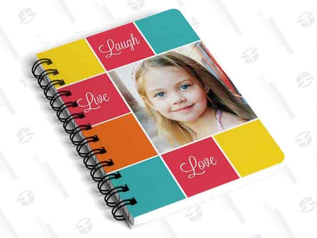 Design Your Own Custom 5x7 Notebook For Just $5