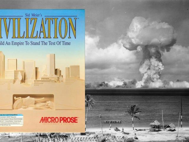 El creador de la civilización derriba nuestros recuerdos de un Gandhi feliz con las armas nucleares